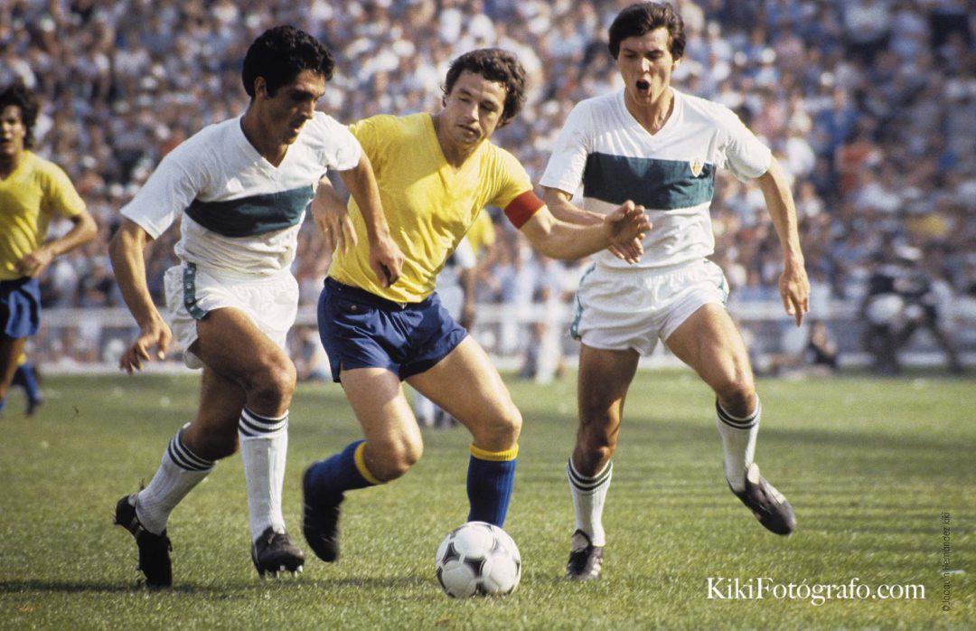 MAYO 1981 MANÉ EN EL PARTIDO ELCHE C. F. CÁDIZ C. F.