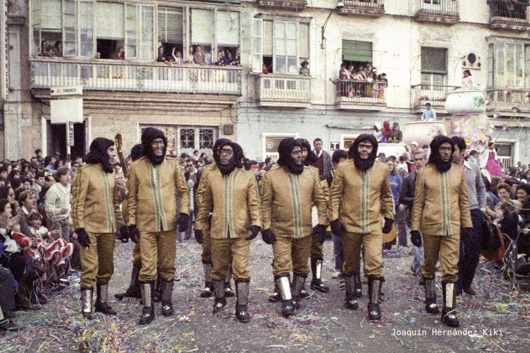 1980 COMPARSA LOS SIMIOS