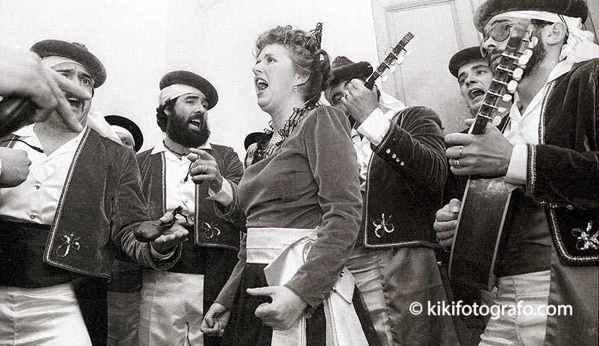 1984 OLÉ GADITANO, EL CORO DE ADELA DEL MORAL